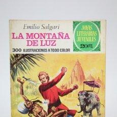 Tebeos: CÓMIC - MONTAÑA DE LUZ, EMILIO SALGARI /JOYAS LITERARIAS - EDIT. BRUGUERA - 1975 1ª EDICIÓN. Lote 139812360