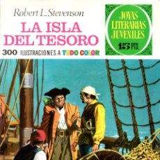 Tebeos: JOYAS LITERARIAS JUVENILES : STEVENSON . LA ISLA DEL TESORO - 1970. Lote 139857350