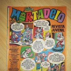 Tebeos: REVISTA JUVENIL MORTADELO.ED. BRUGUERA.1973.NO 120,AÑO IV.. Lote 139896330