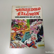 Tebeos: 1118- TEBEO MORTADELO Y FILEMON LOS AGENTES DE LA TIA BRUGUERA 1981 46 PAG . Lote 140003198