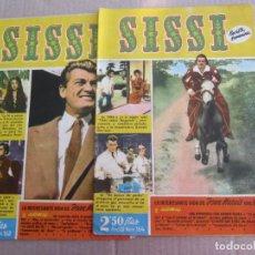 Tebeos: 2 SISSI , N. 162 Y 164 , LA INTERESANTE VIDA DE JEAN MARAIS EN FOTOS. Lote 140094174