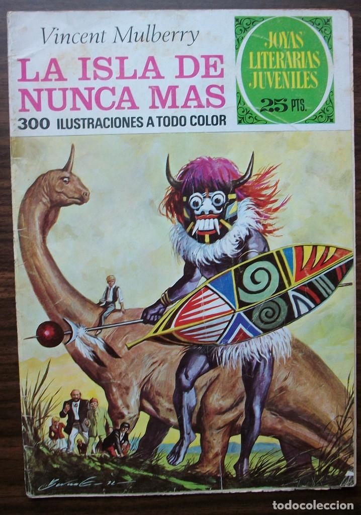 LA ISLA DE NUNCA MAS. VINCENT MULBERRY Nº 59, AÑO 1976 (Tebeos y Comics - Bruguera - Joyas Literarias)