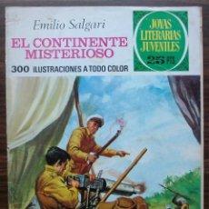 Tebeos: EL CONTINENTE MISTERIOSO. EMILIO SALGARI. Nº 174. AÑO 1977. Lote 140278434