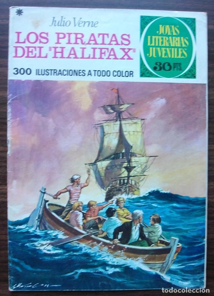 LOS PIRATAS DEL (HALIFAX). JULIO VERNE. Nº 133, AÑO 1975 (Tebeos y Comics - Bruguera - Joyas Literarias)