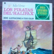 Tebeos: LOS PIRATAS DEL (HALIFAX). JULIO VERNE. Nº 133, AÑO 1975. Lote 140278702