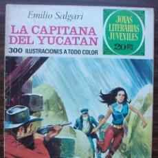 Tebeos: LA CAPITANA DEL YUCATAN. EMILIO SALGARI. Nº 124. AÑO 1975. Lote 140278886