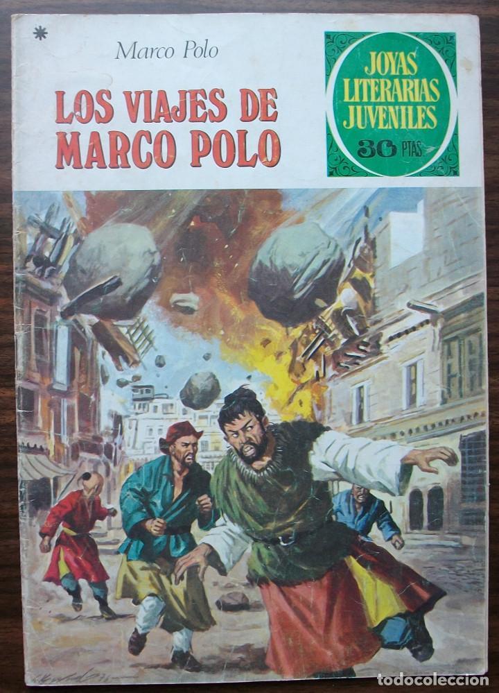 LOS VIAJES DE MARCO POLO. MARCO POLO. Nº 166, AÑO 1978 (Tebeos y Comics - Bruguera - Joyas Literarias)