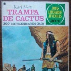 Tebeos: TRAMPA DE CACTUS. KARL MAY. Nº 122, AÑO 1978. Lote 140279634