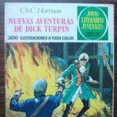 Tebeos: NUEVAS AVENTURAS DE DICK TURPIN. CH.C. HARRISON. Nº 92, AÑO 1977. Lote 140279950