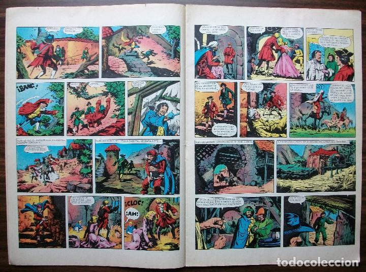 Tebeos: NUEVAS AVENTURAS DE DICK TURPIN. CH.C. HARRISON. Nº 92, AÑO 1977 - Foto 2 - 140279950