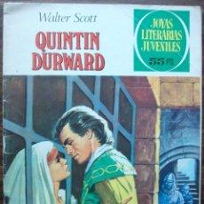 Tebeos: QUINTIN DURWARD. WALTER SCOTT. Nº 67, AÑO 1976. Lote 140280642