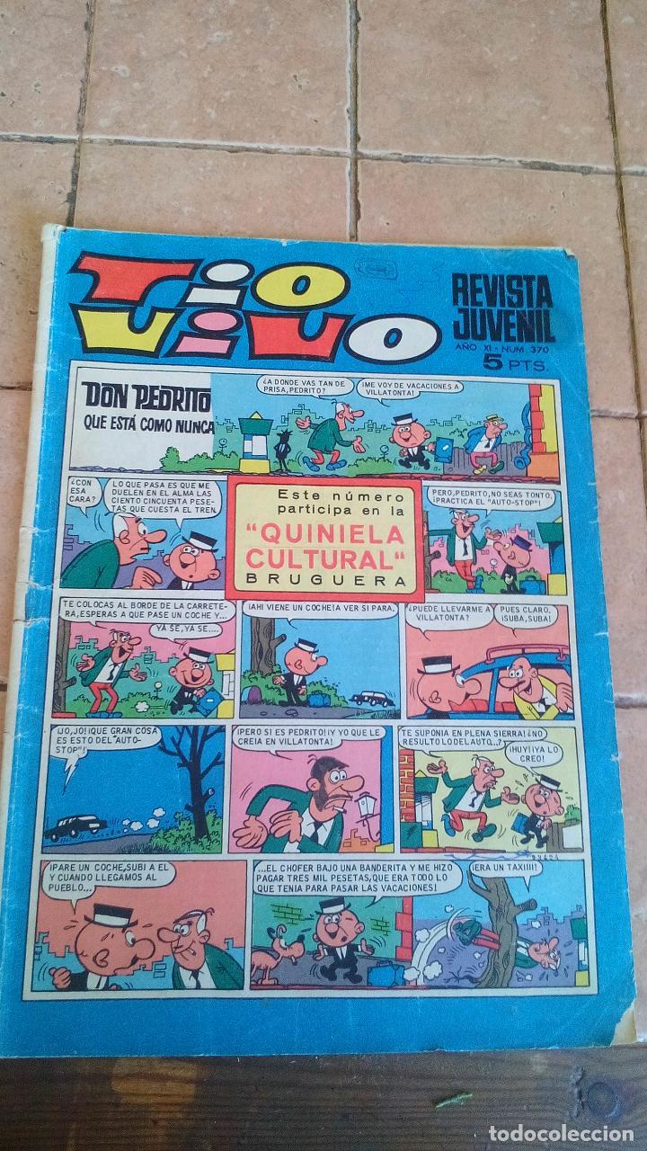 TIO VIVO - BRUGUERA - NUMERO 370 - 5 PESETAS (Tebeos y Comics - Bruguera - Tio Vivo)