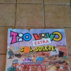 Tebeos: TIO VIVO - BRUGUERA - EXTRA SOL SOLETE - 140 PESETAS. Lote 140385998
