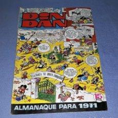 Tebeos: DIN DAN ALMANAQUE PARA 1971 ORIGINAL EDITORIAL BRUGUERA 1970. Lote 140403150