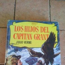 Tebeos: LOS HIJOS DEL CAPITAN GRANT (JULIO VERNE) - 250 ILUSTRACIONES A MODO TEBEO - BRUGUERA. Lote 140407318