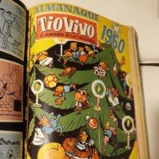 Tebeos: TOMO TIO VIVO TEBEOS + ALMANAQUE DE 1960 Y VARIOS EXTRAS + ÚLTIMOS NOS. DE VEN Y VEN 6,7,9 Y 10. Lote 140418150