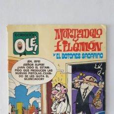 Tebeos: COMIC / MORTADELO Y FILEMON Y EL BOTONES SACARINO / BRUGUERA 2ª EDICION 1982 Nº 188 . Lote 140424262