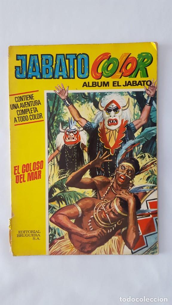 COMIC / JABATO / EL COLOSO DEL MAR / BRUGUERA 1970 / Nº 13 (Tebeos y Comics - Bruguera - Jabato)