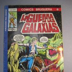 Tebeos: STAR WARS (1977, BRUGUERA) -LA GUERRA DE LAS GALAXIAS- 10 · V-1978 · LA GUERRA DE LAS GALAXIAS. Lote 140478230