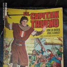 Tebeos: EL CAPITAN TRUENO ALBUM GIGANTE Nº 4 EN LA BOCA DEL LOBO. Lote 140479782