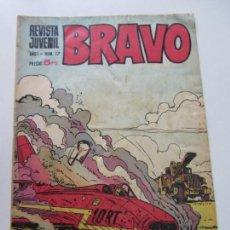 Tebeos: BRAVO - REVISTA JUVENIL- Nº 17 -AQUILES TALÓN-GALAX-MICHEL TANGUY BLUEBERRY 1968 BRUGUERA C12. Lote 140490634