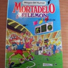 Tebeos: MORTADELO Y FILEMÓN - LOS ANGELES 84 - MAGOS DEL HUMOR 4 - AÑO 1984 - MUY BUEN ESTADO. Lote 140526778