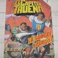 Tebeos: EL CAPITÁN TRUENO - 2ª EDICION 1989 - TOMO 1 - NÚMEROS 1 AL 4. Lote 140572590