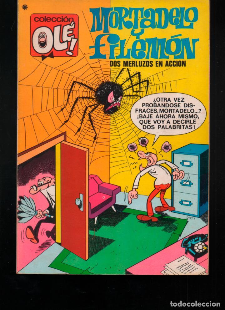 COLECCION OLE Nº 35. 3ª EDICION 1979. MORTADELO Y FILEMON. BRUGUERA (Tebeos y Comics - Bruguera - Ole)