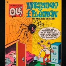 Tebeos: COLECCION OLE Nº 35. 3ª EDICION 1979. MORTADELO Y FILEMON. BRUGUERA. Lote 140600602