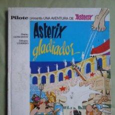 Tebeos: ASTERIX GLADIADOR. EDITORIAL BRUGUERA 1968. Lote 140619922