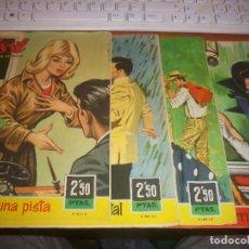 Tebeos: LOTE DE 4 TEBEOS. REVISTA JUVENIL FEMININA. Nº 155 A 158. HD. Lote 140633878
