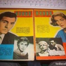 Tebeos: LOTE DE 2 TEBEOS SISSI. REVISTA JUVENIL FEMININA. Nº 179 Y 180. HD. Lote 140634402