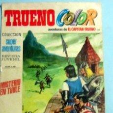 Tebeos: TRUENO COLOR Nº 1461 Y JABATO COLOR Nº 1696 POR SOLO 0,50 CTMOS.. Lote 140639910