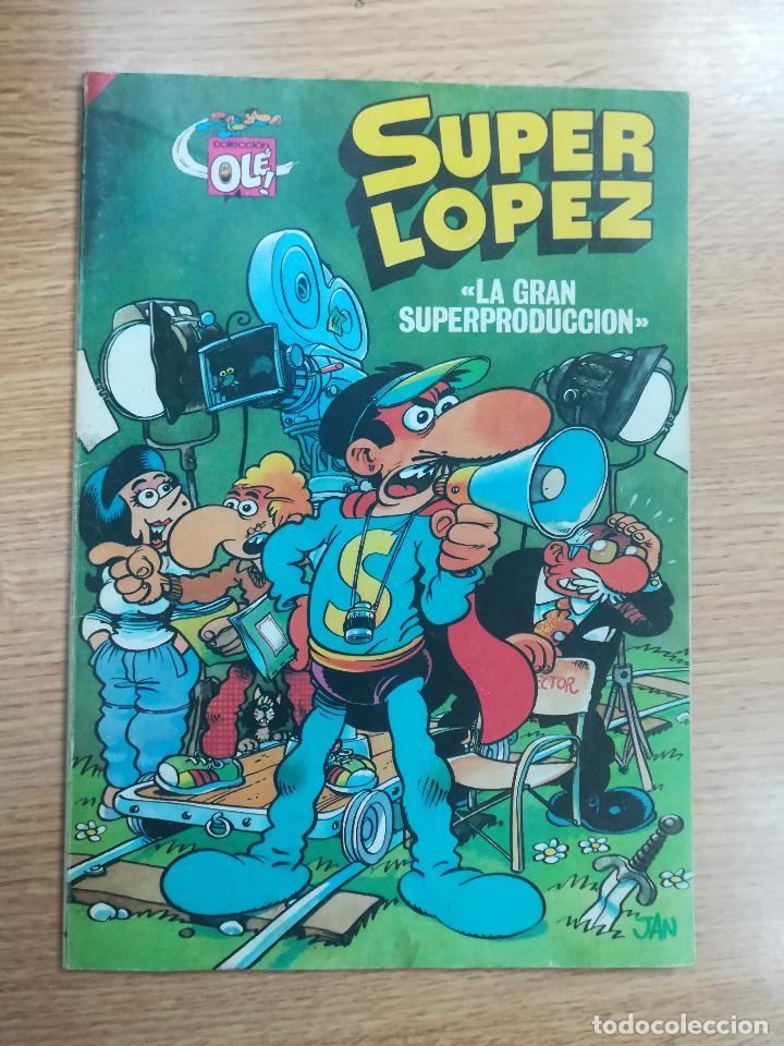 SUPERLOPEZ LA GRAN SUPERPRODUCCION (OLE #9 - 1ª EDICION MAYO 1985) (Tebeos y Comics - Bruguera - Otros)