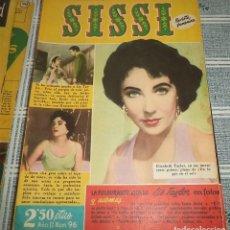 Tebeos: SISSI BRUGUERA 1958 REVISTA FEMENINA N.º 96 VIDA EN FOTOS DE LIZ TAYLOR I. Lote 140803942
