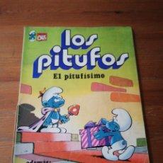 Tebeos: LOS PITUFOS. EL PITUFISIMO.. Lote 140852514