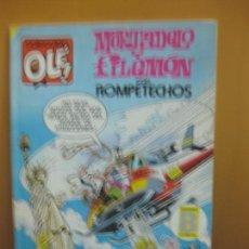 Tebeos: MORTADELO Y FILEMON CON ROMPETECHOS. COLECCION OLE 290-M 56 EDICIONES B. 1991. Lote 140855710