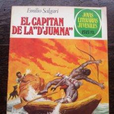 Tebeos: EL CAPITÁN DE LA D'JUMNA - EMILIO SALGARI - NÚMERO 240 - AÑO 1981 - MUY BUEN ESTADO. Lote 140859202