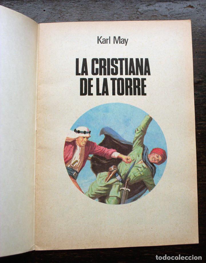 Tebeos: LA CRISTIANA DE LA TORRE - KARL MAY - NÚMERO 244 - AÑO 1981 - PERFECTO ESTADO - Foto 2 - 140861466