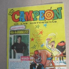 Tebeos: EL CAMPEON DE HISTORIETAS , N. 62 , VIDA DE RAMALLETS EN FOTOS , BRUGUERA 1961. Lote 141139758