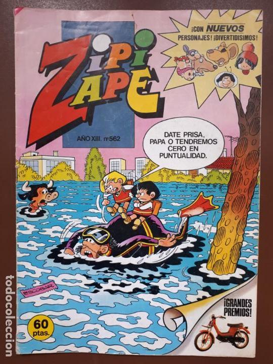 ZIPI Y ZAPE Nº562 - EDITORIAL BRUGUERA - 1984 (Tebeos y Comics - Bruguera - Otros)
