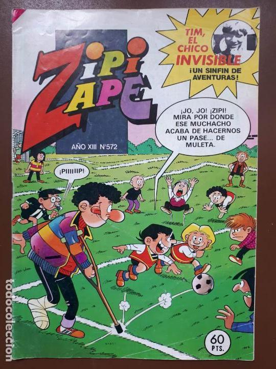 ZIPI Y ZAPE Nº572 - EDITORIAL BRUGUERA - 1984 (Tebeos y Comics - Bruguera - Otros)