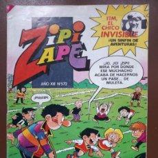 Tebeos: ZIPI Y ZAPE Nº572 - EDITORIAL BRUGUERA - 1984. Lote 141147882