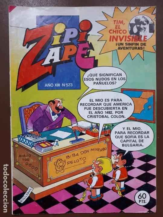 ZIPI Y ZAPE Nº573 - EDITORIAL BRUGUERA - 1984 (Tebeos y Comics - Bruguera - Otros)