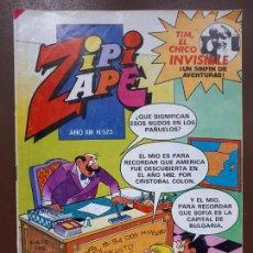 Tebeos: ZIPI Y ZAPE Nº573 - EDITORIAL BRUGUERA - 1984. Lote 141148450