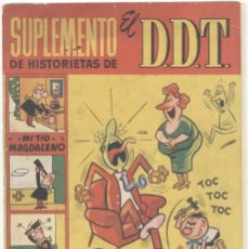 Tebeos: SUPLEMENTO DE HISTORIETAS DE EL DDT, Nº18. Lote 141455702