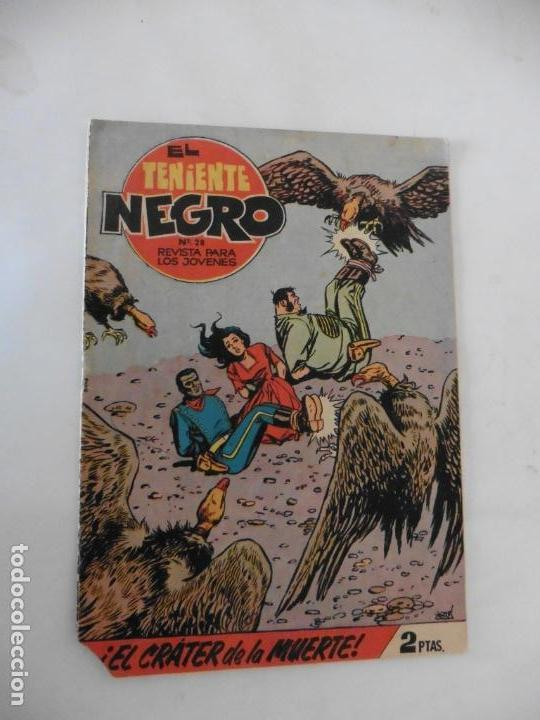 TENIENTE NEGRO 10 CUADERNILLOS ORIGINALES (Tebeos y Comics - Bruguera - Otros)