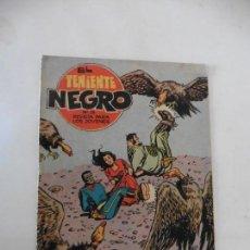 Tebeos: TENIENTE NEGRO 10 CUADERNILLOS ORIGINALES . Lote 141467086