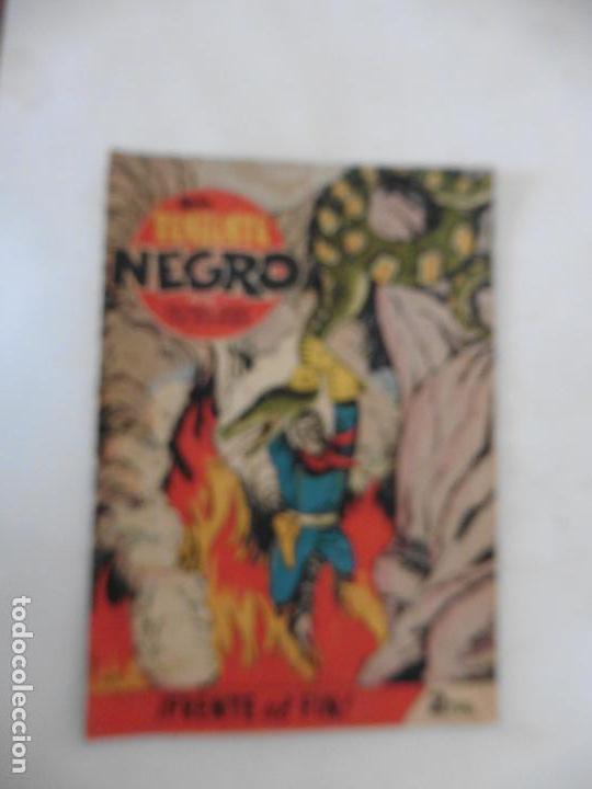 Tebeos: TENIENTE NEGRO 10 CUADERNILLOS ORIGINALES - Foto 3 - 141467086