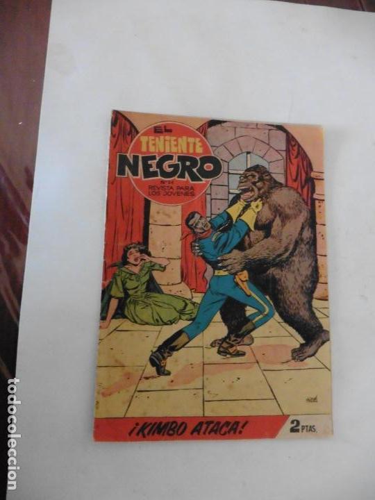 Tebeos: TENIENTE NEGRO 10 CUADERNILLOS ORIGINALES - Foto 9 - 141467086
